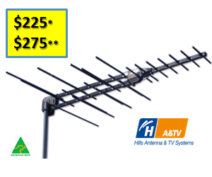 TV Antenna Installation & Pricing - Telewest Kinross